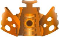[Culture] Le Masque du Temps fait officiellement son apparition dans la G2 de Bionicle BH_Orange_Kanohi_Vahi