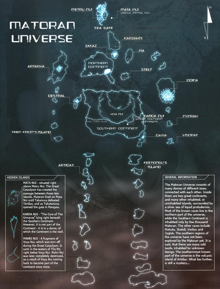 [Univers] Méconceptions sur l'Histoire BIONICLE : Ce que vous pensez savoir Matoran_Universe