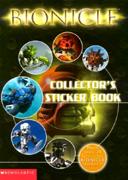 BIONICLE Collectors Sticker Book.png