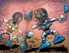 Comic Matoran with Infected Kanohi.png
